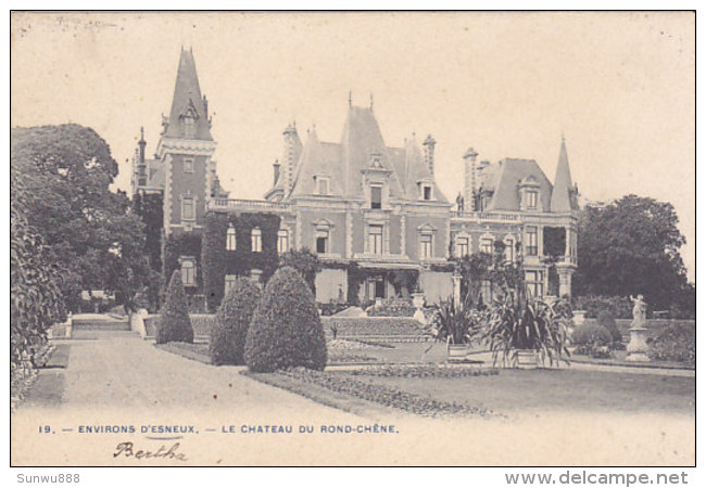 Environs D'Esneux - Le Château Du Rond-Chêne (1904) - Esneux