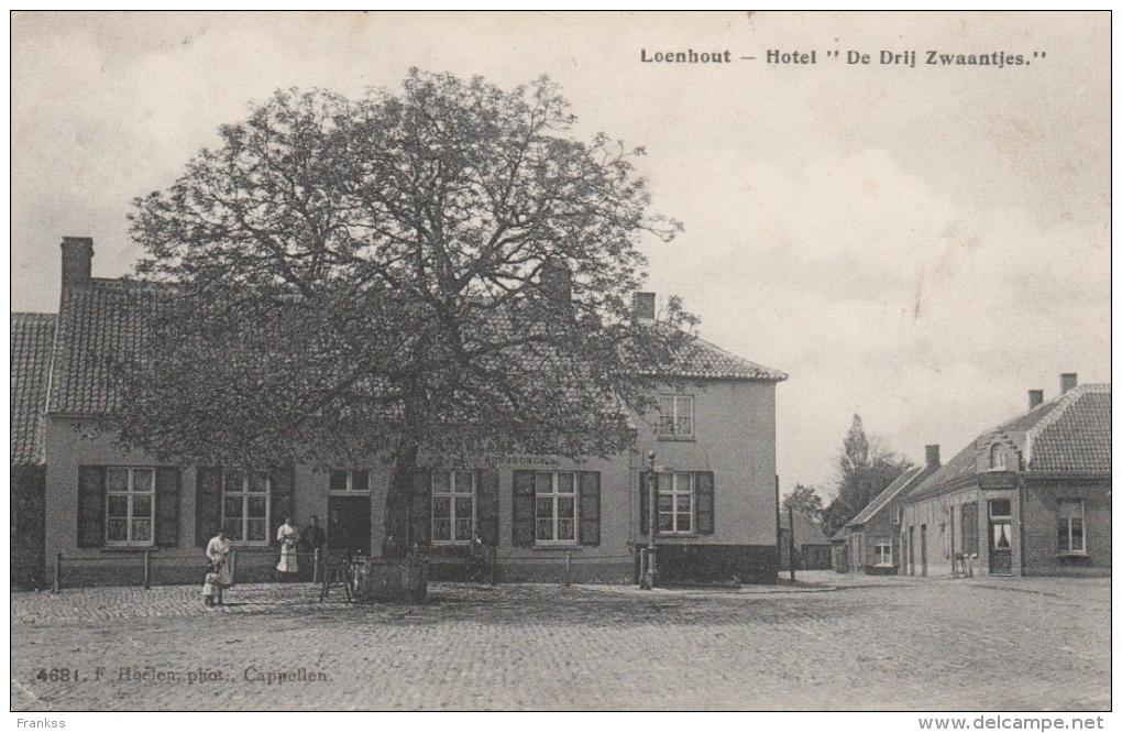 Loenhout Hotel De Drie Zwaantjes ??? - Antwerpen