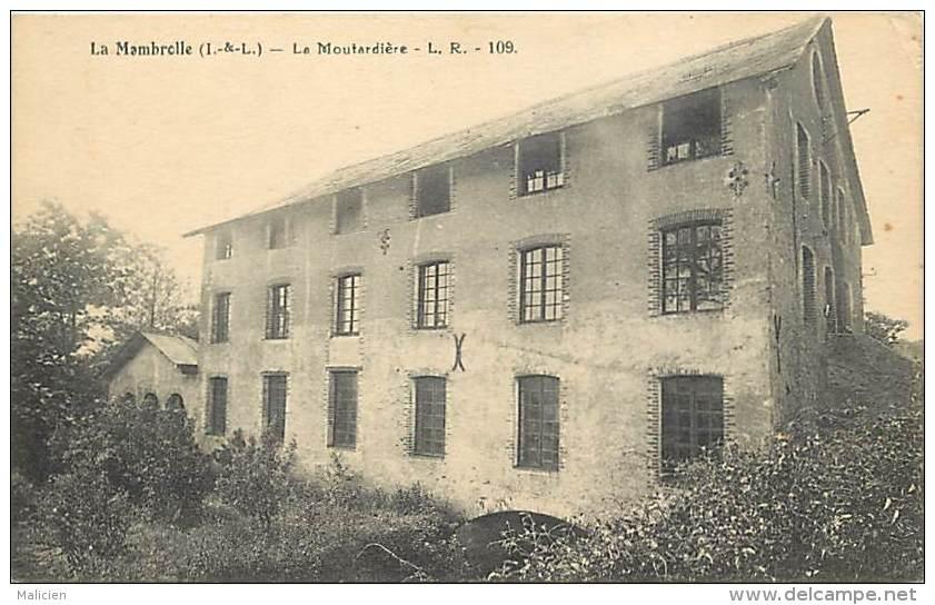 - Indre Et Loire -ref A660  - La Membrolle Sur Choisille - La Moutardiere - Moutardieres - Moutarde - Usine - Industrie - France