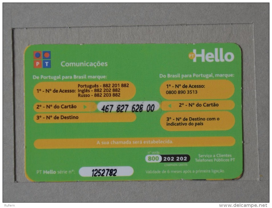 TELECARTE - CREDIFONE - PHONECARD - TELEFONKARTE   2 SCANS - (Nº14996) - Télécartes