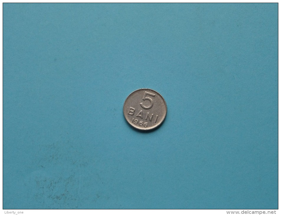 1966 - 5 Bani / KM 92 ( Uncleaned - For Grade, Please See Photo ) ! - Roumanie