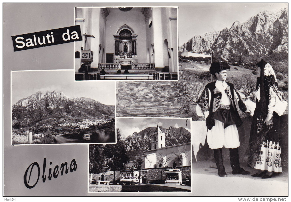 Saluti Da Oliena Viaggiata Nel 1969 - Italia