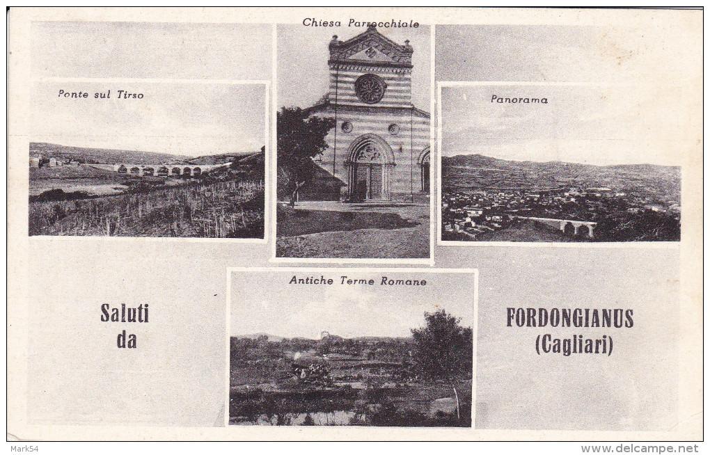Saluti Da Fordongianus Viaggiata Nel 1956 - Italia