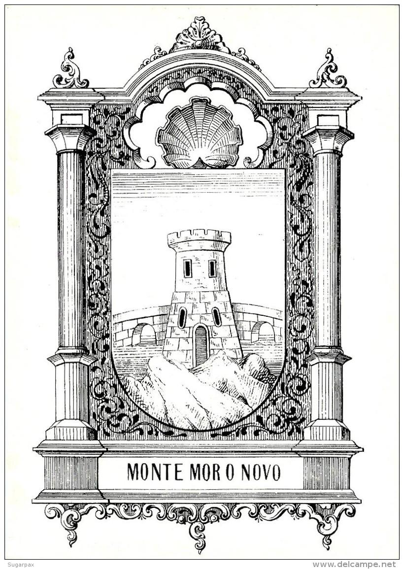 MONTEMOR O NOVO - Brasão Da Cidade - HERALDICA - Ed. Cultarte N.º 72 - Evora