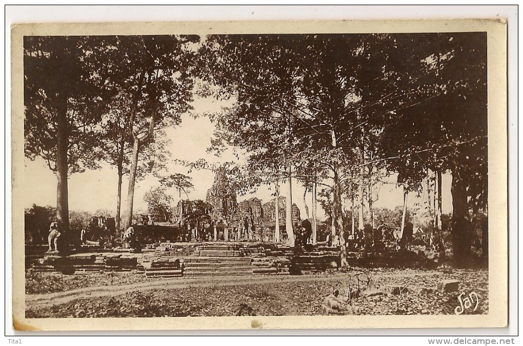 S4866 - Angkor Thom  - Le Baïon - Cambodge
