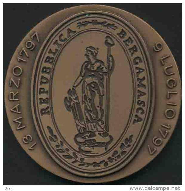 1797/1997 200 Anni Fine Dominio Repubblica Di Venezia Su Bergamo - Italia