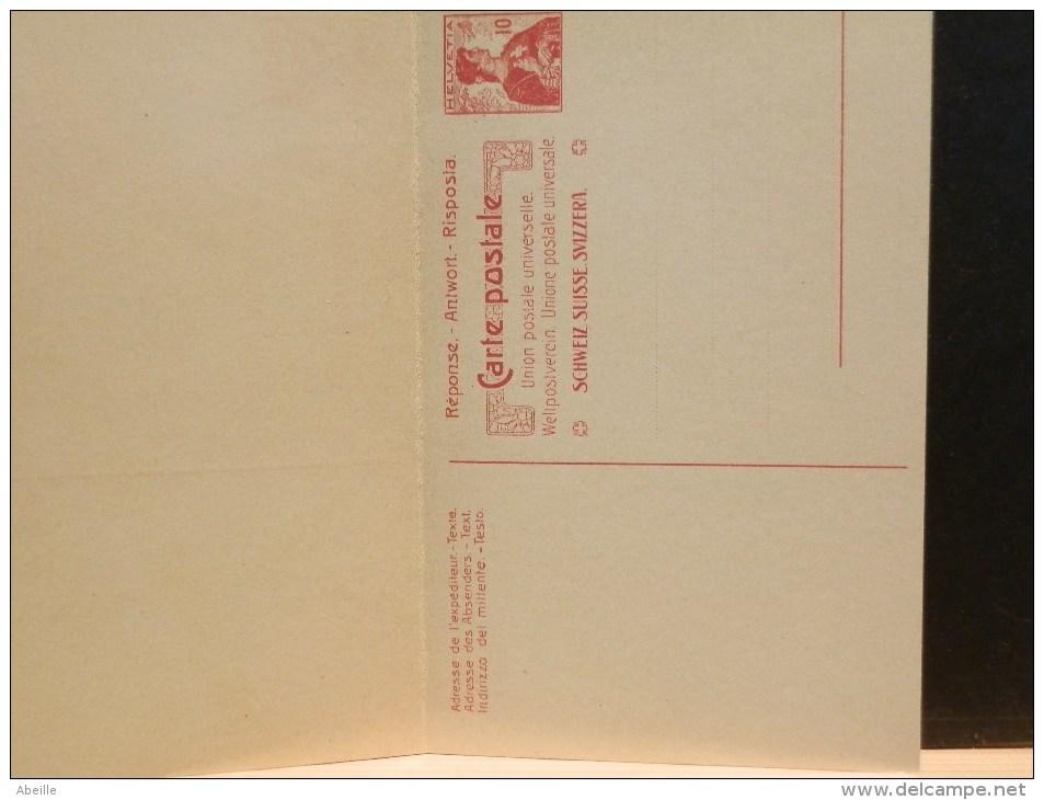 59/140    CP XX AVEC REPONSE PAYE - Interi Postali