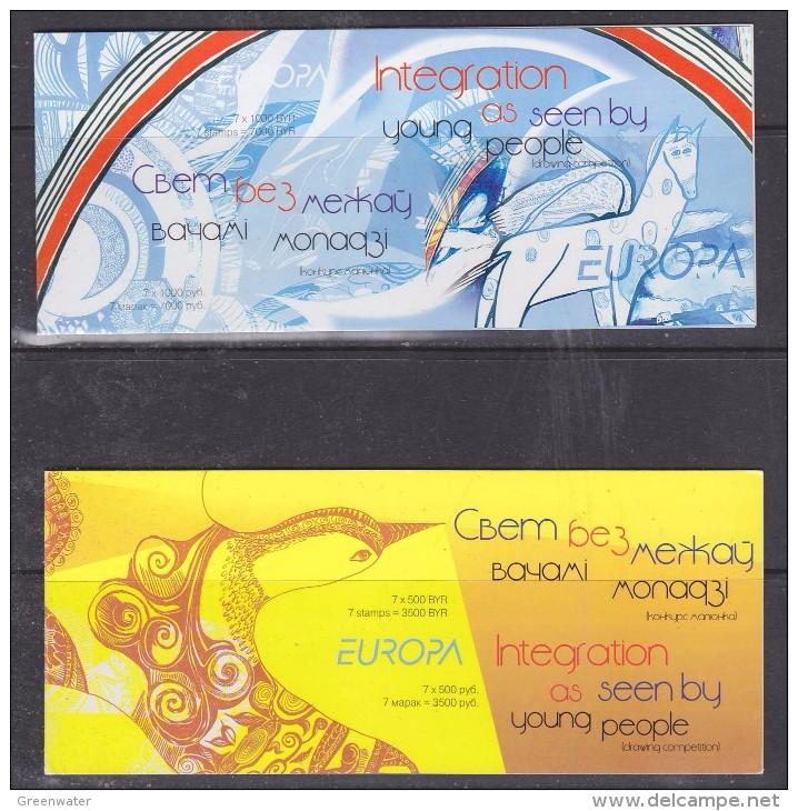 Europa Cept 2006 Belarus 2 Booklets ** Mnh (F5196) - 2006