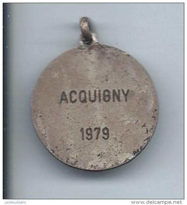 Petite Médaille/ Foot-Ball/Acquigny//1979         SPO91 - Football