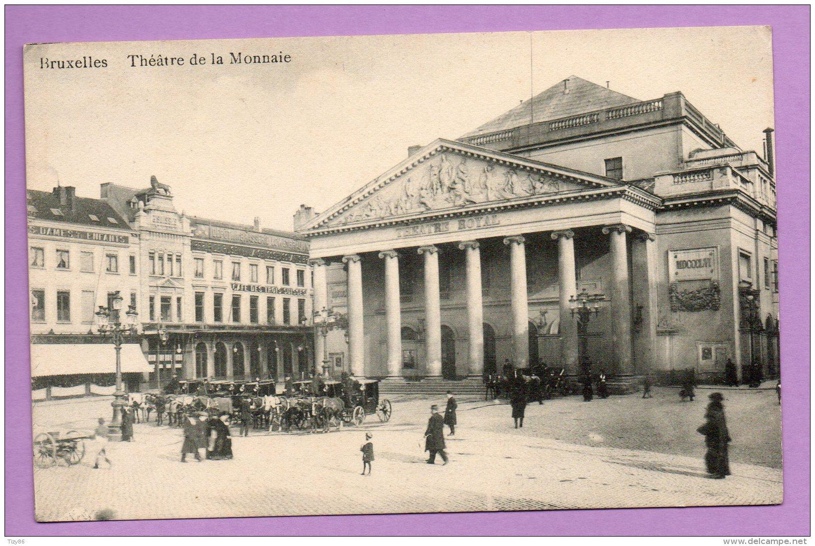 Bruxelles-Theatre De La Monnaie - Non Classificati
