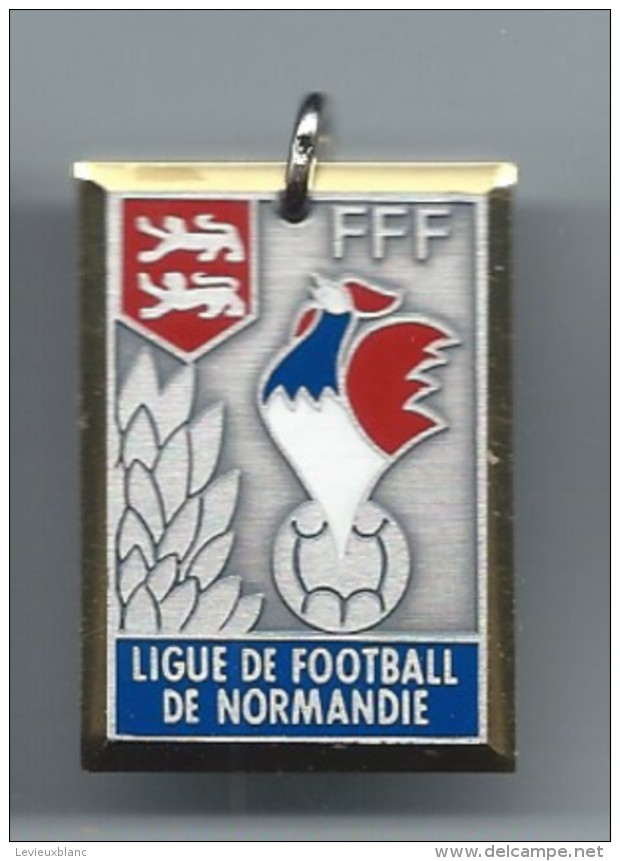 Médaille/ Foot-Ball/FFF/ Ligue De Football De Normandie /Coupe Normandie Junior/Finaliste// 1987-88          SPO100 - Football