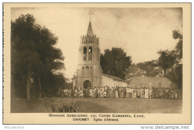 BJ ATHIEME /  Eglise D'Athiémé / - Benin