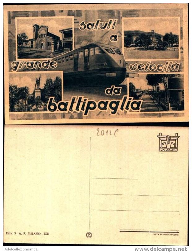 2012c) Cartolina Di Battipaglia-varie Vedute-nuova - Battipaglia