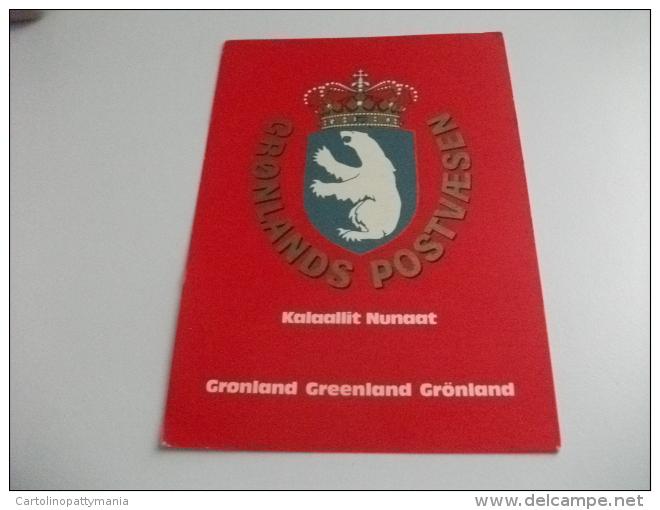 STORIA POSTALE FRANCOBOLLO COMMEMORATIVO ORSO GROELANDIA STEMMA - Groenlandia