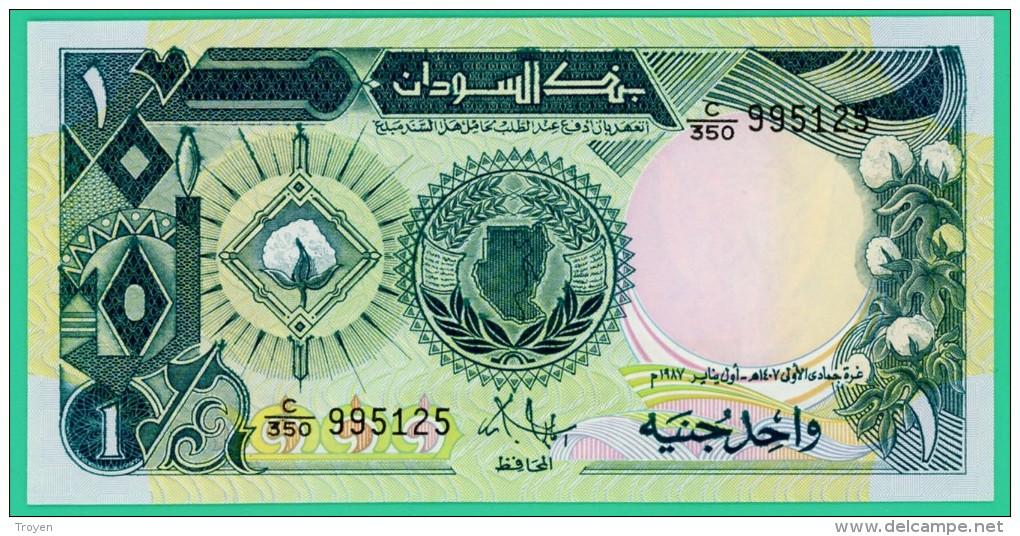 1 Livre - Soudan - One Sudanese Pound - 1985 - N° C/350 995125 - Neuf - Soudan