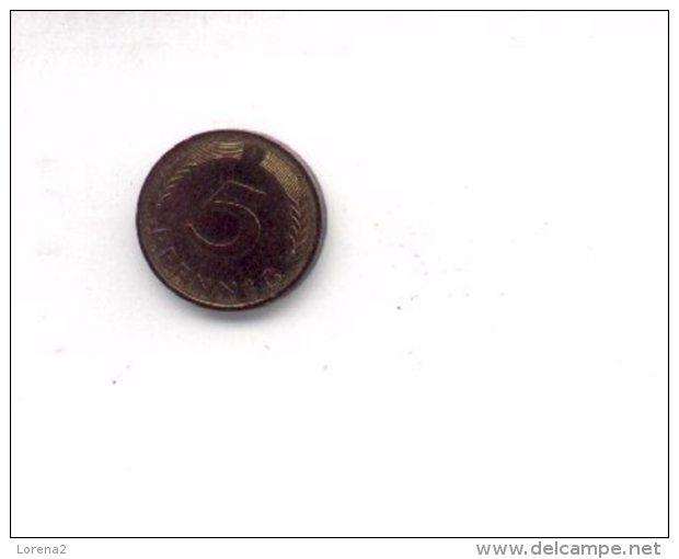 4-223. Moneda Alemania Federal 5 Pfennig 1981. MBC - Monedas