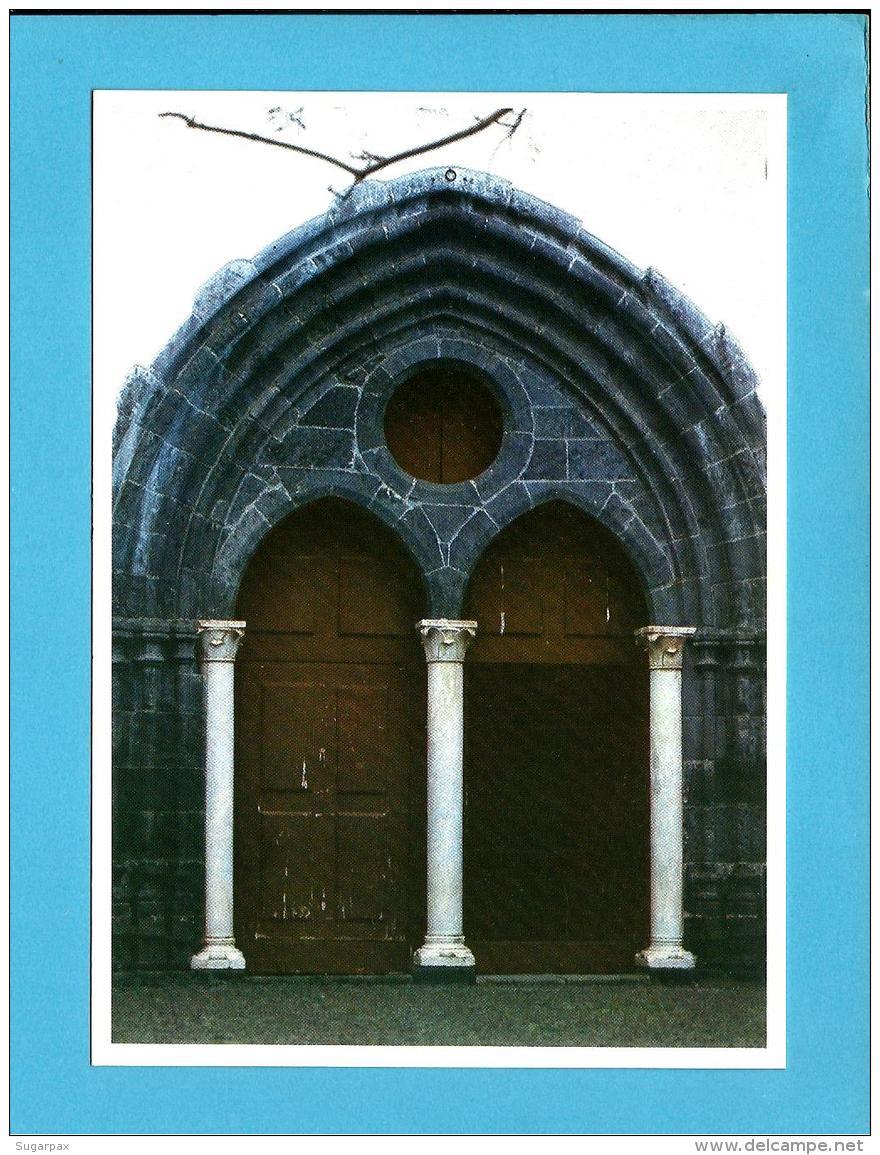 Machico * Portal De Igreja - Série A - InteiroPostal Stationery Card - Madeira - Válido Portugal E Espanha - Enteros Postales