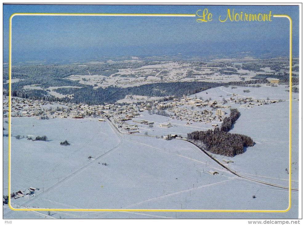 Le Noirmont, Vue Générale En Hiver - JU Jura