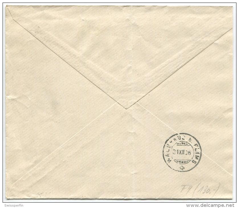 1521 - Perfin Beleg Der Firma Franz Carl Weber In Zürich - 1882-1906 Wappen, Stehende Helvetia & UPU