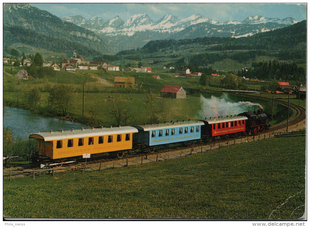 Nesslau - Neu St. Johann - Amor-Express Der Bodensee-Toggenburg-Bahn - SG St. Gall