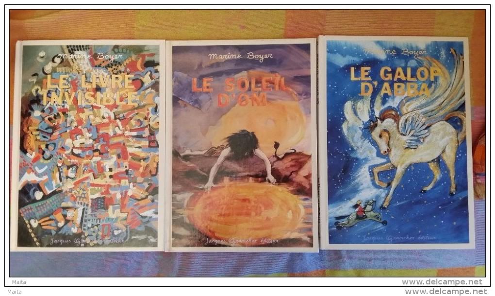 Rare - Marine - Collection Complète, Soleil D'Om, Livre Invisible, Galop D'Abba, - Livres Pour Enfants