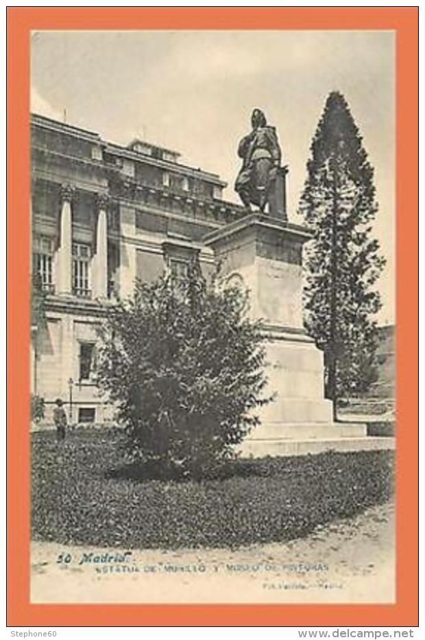 A443/429 MADRID Estatua De Murillo Y Museo De Pinturias - Espagne