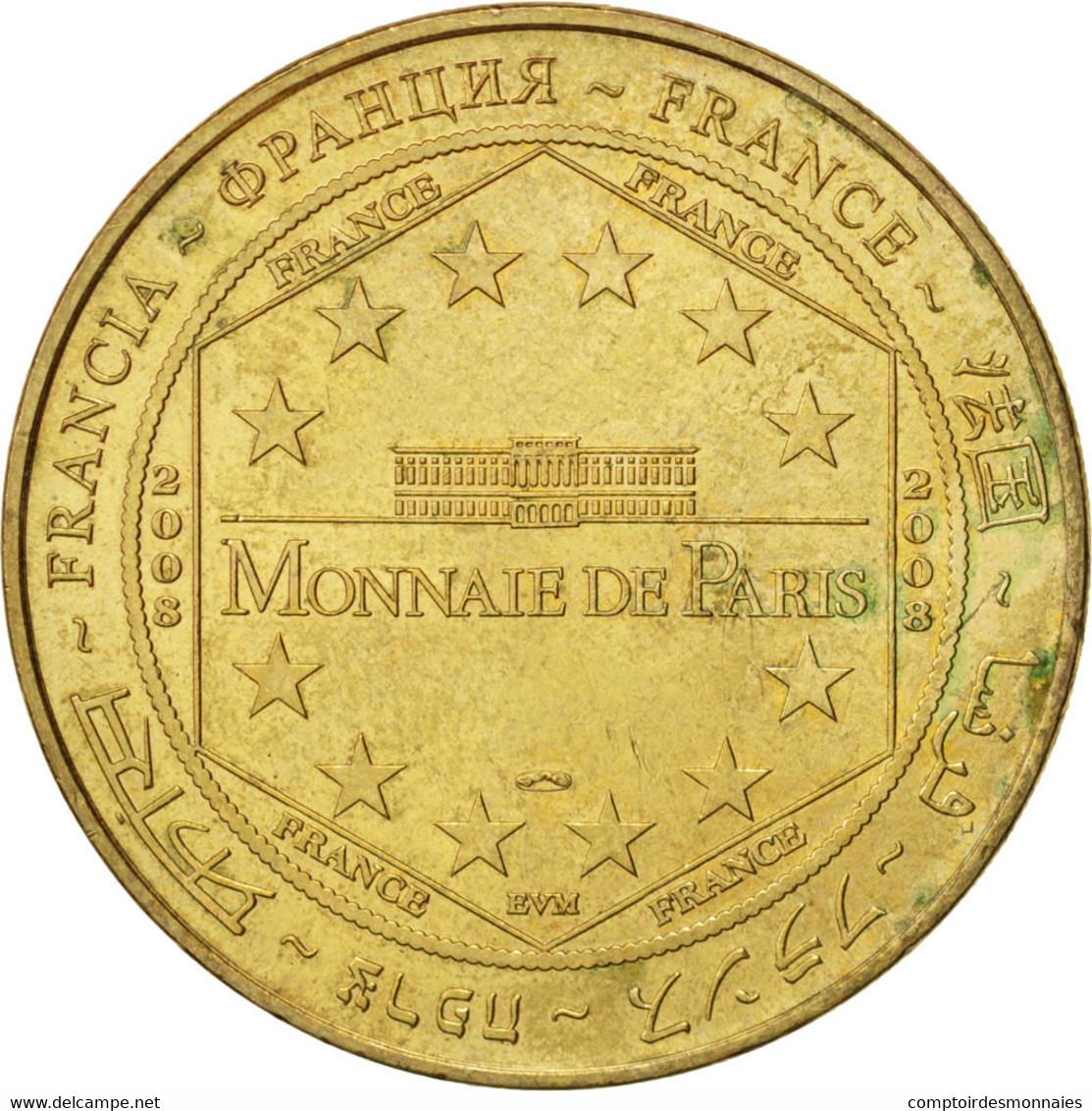 France, Jeton Touristique, 62/ Nausicaà - Mer Sur Terre, 2008, Monnaie De Paris - France