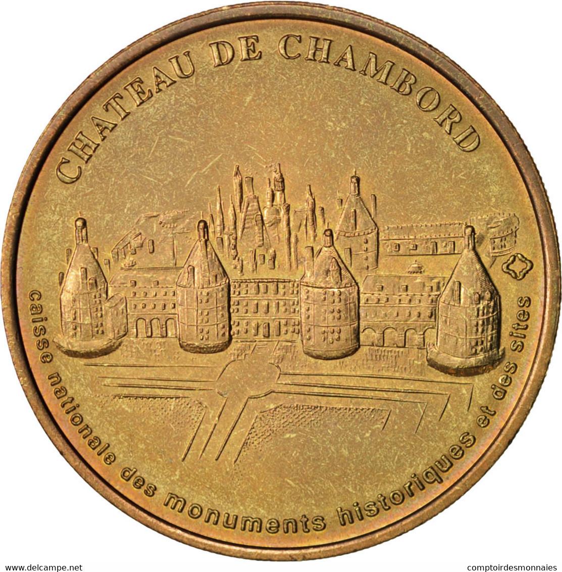 France, Jeton Touristique, 41/ Château De Chambord, 2004, Monnaie De Paris - France