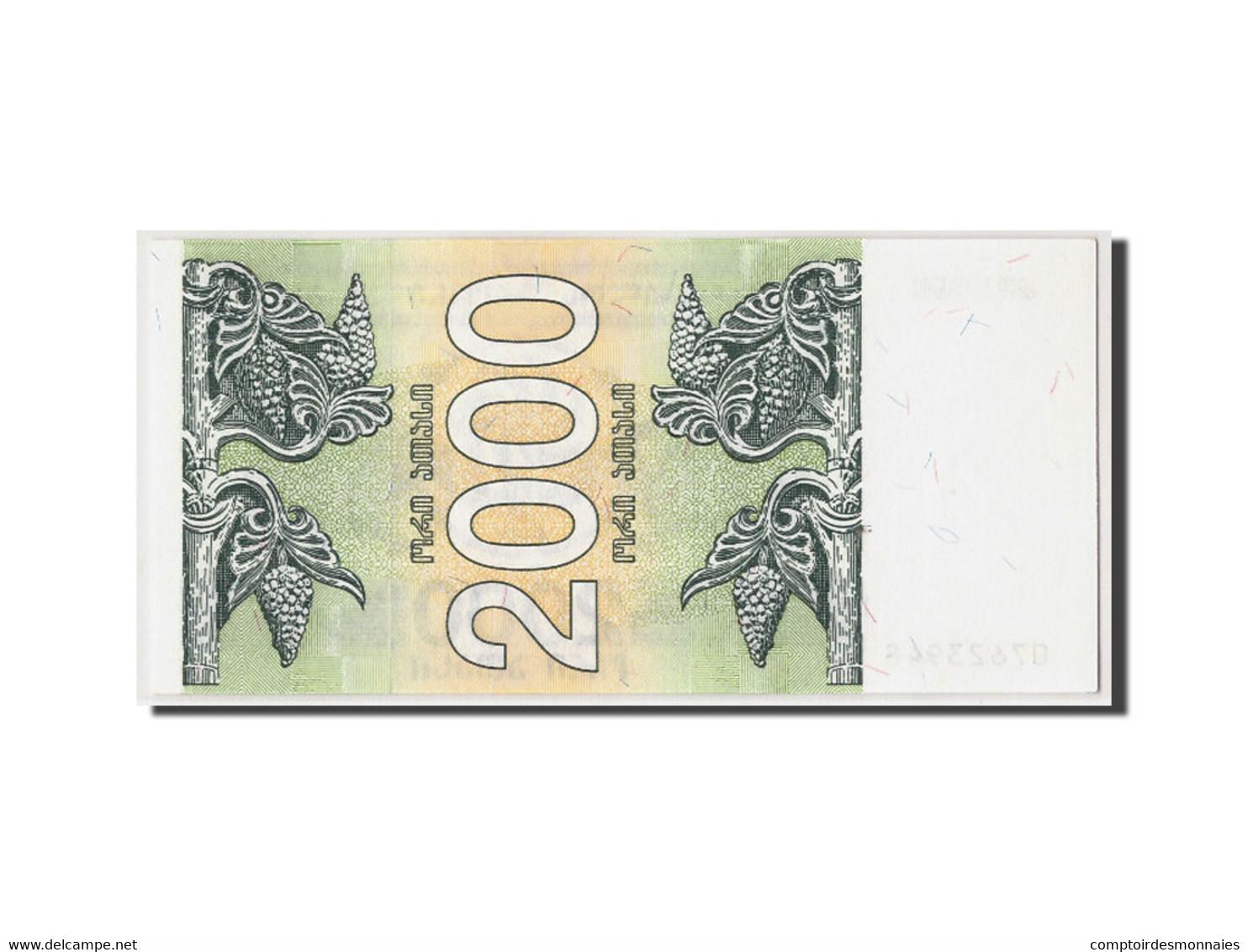 Géorgie, 2000 (Laris), 1993, Non Daté, KM:44, NEUF - Géorgie