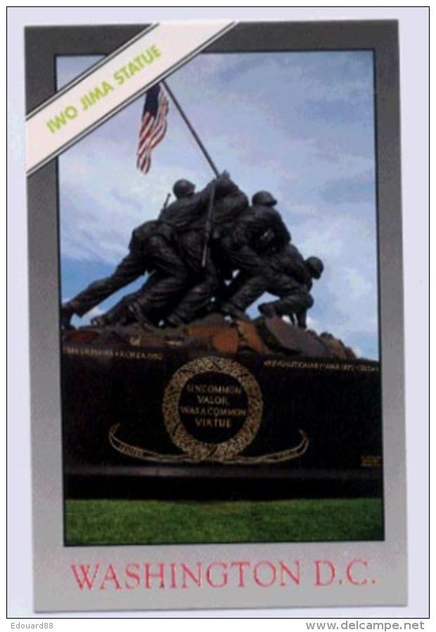 WASHINGTON D.C. U.S. Marine Corps War Memorial Iwo Jima Staue - Washington DC