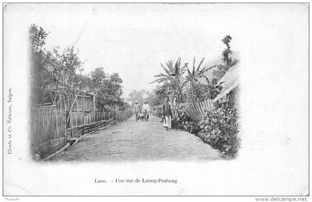 ¤¤  -   LAOS    -   Une Rue De Luang-Prabang   -   ¤¤ - Laos