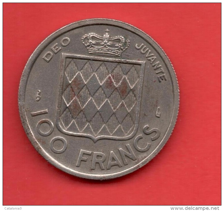 MONACO - 100 Francs  1956  KM134 - 1819-1922 Honoré V, Charles III, Albert I