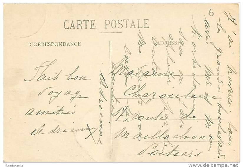 Cpa PARIS XII - La Villa Du Bel Air, Rue Du Niger - Institution De Demoiselles - Arrondissement: 12