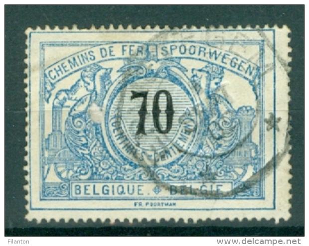 """BELGIE - OBP Nr TR 23 - Telegraafstempel  """"ERWETEGEM"""" - (ref. AD-4700) - 1895-1913"""