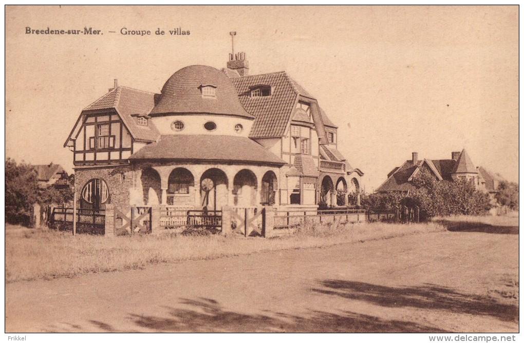Bredene Breedene-sur-Mer Groupe De Villas - Bredene