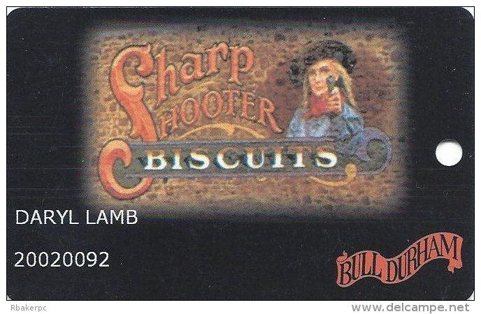 Bull Durham Casino Black Hawk CO - Slot Card - Casino Cards