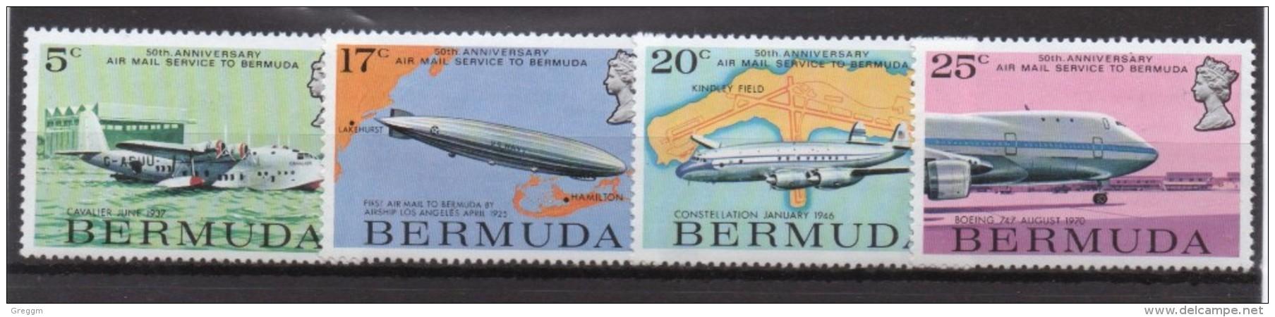 Bermuda Unmounted Mint Set Of Stamps Issued In 1975 - Bermuda