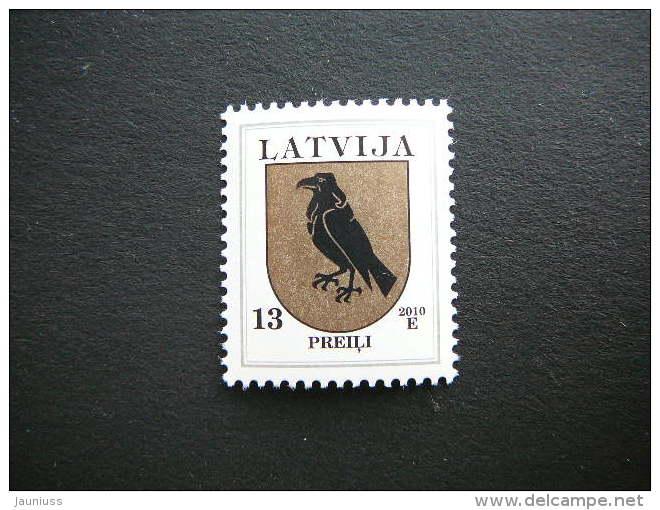 Definitive Issue. Coats Of Arms # Latvia Lettland Lettonie # 2010 MNH # Mi. 422 AII  Birds - Latvia