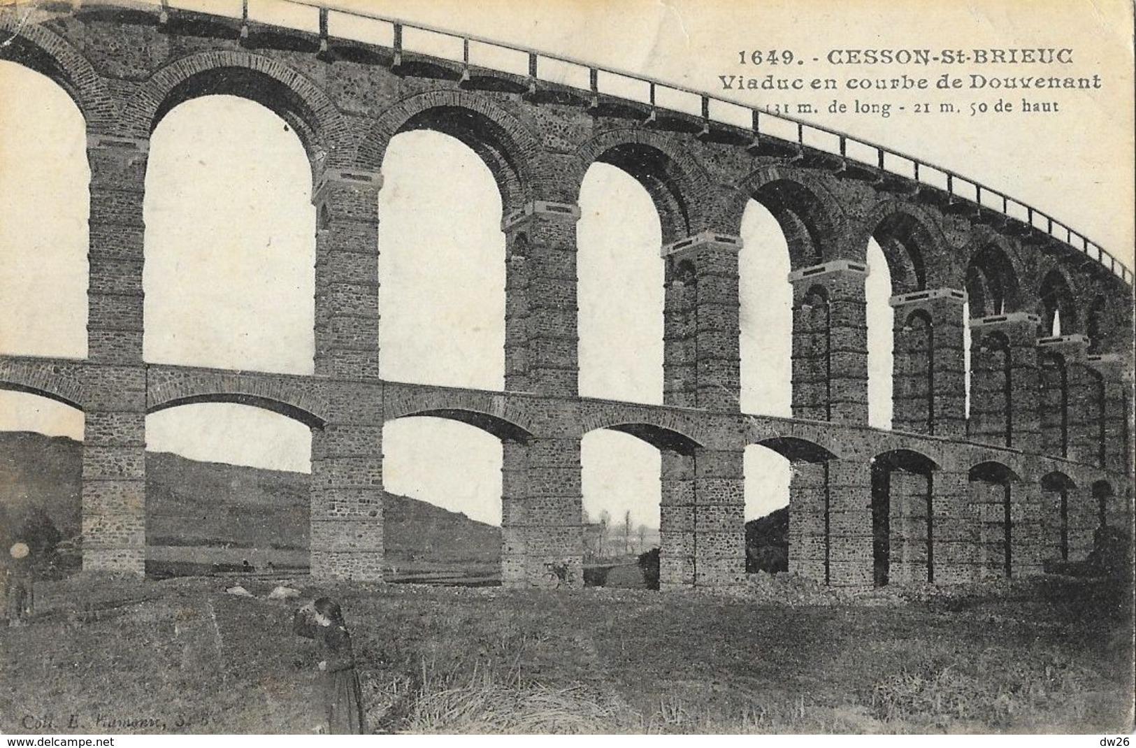 Cesson-St-Brieuc - Viaduc En Courbe De Douvenant - Ouvrages D'Art