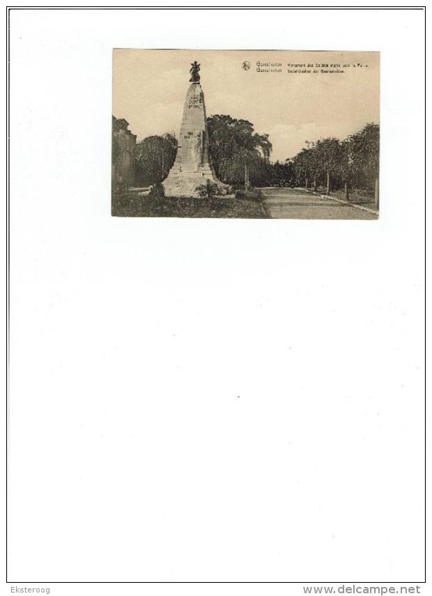 Ganshoren - Gedenkteken Der Gesneuvelden - Ganshoren