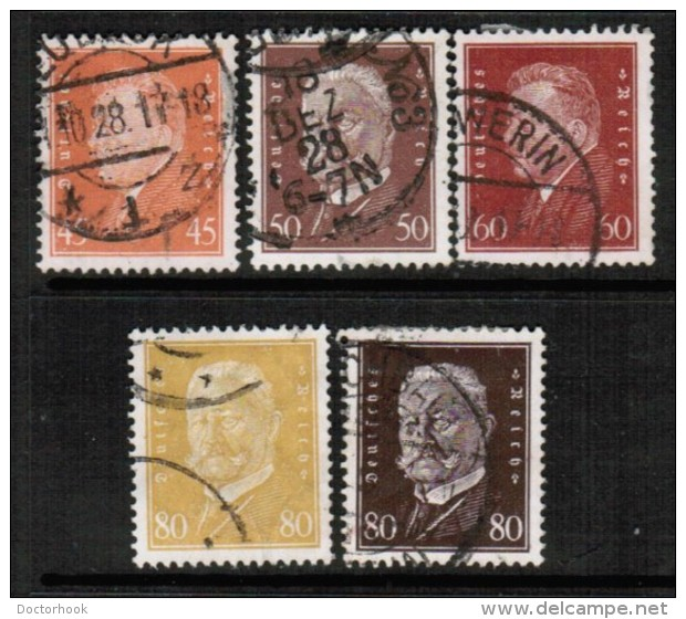 GERMANY   Scott # 366-84 VF USED - Used Stamps