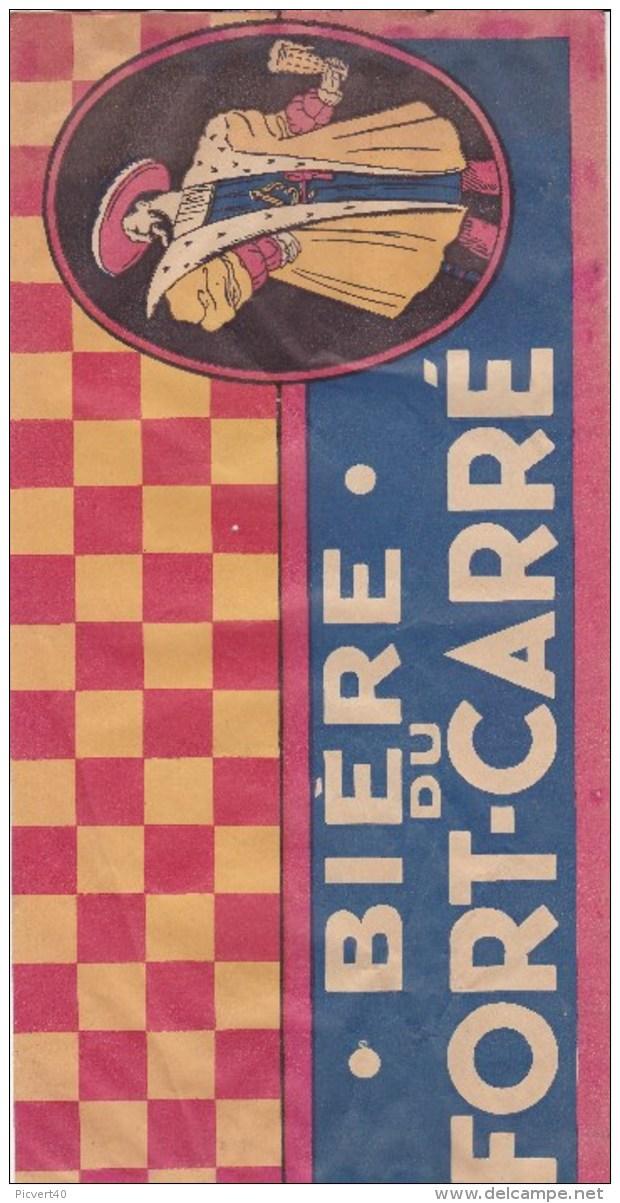 Biére Du Fort Carré ,chapeau En Papier Pour Le Tour De France,frais Port 2e,50 - Cannettes
