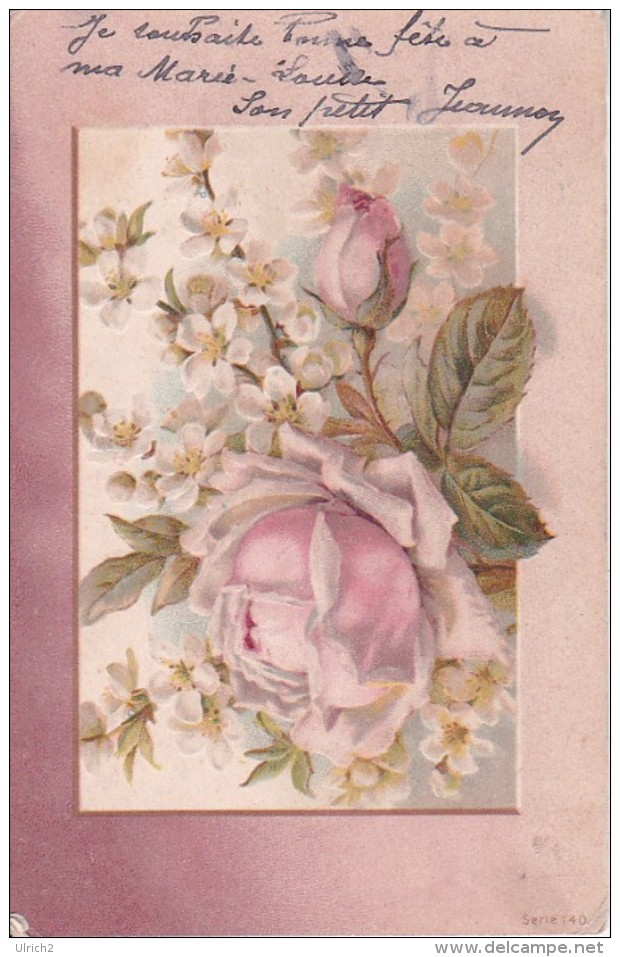 AK Rosen - Prägedruck - Ca. 1910 (23269) - Blumen