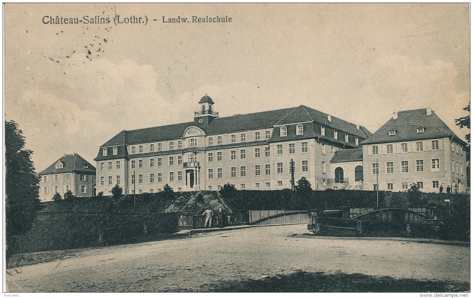 CHATEAU SALINS - Landw. Realschule - Chateau Salins