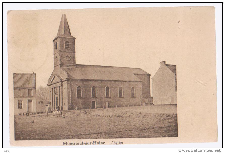 Cpa Montroeul Sur Haine  1936 - Hensies