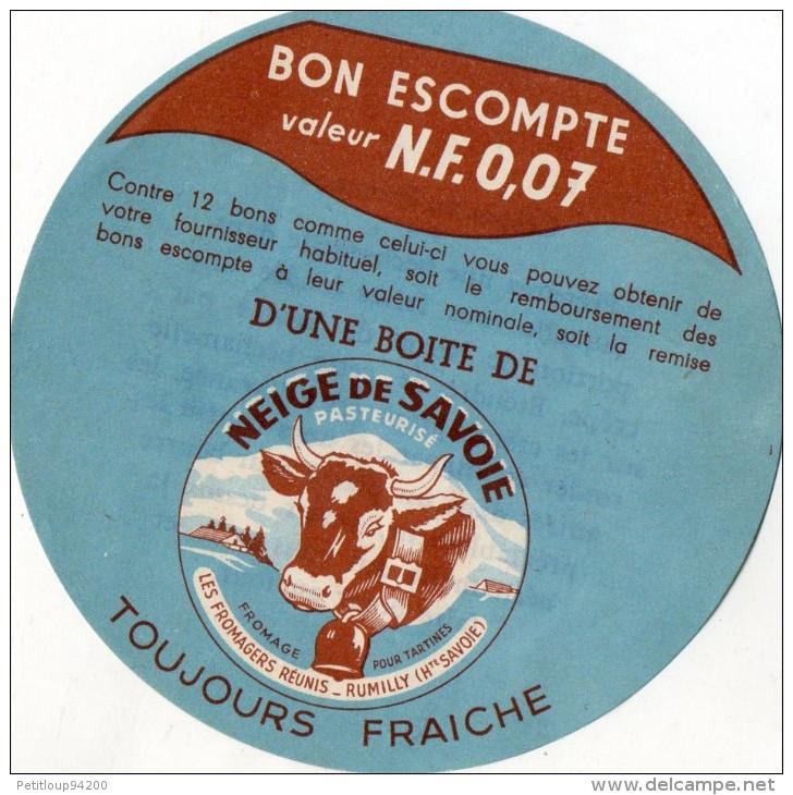 BON ESCOMPTE BOITE Neige De Savoie - Fromage