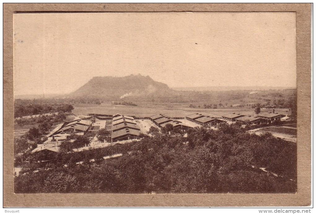 ALLEMAGNE - LUDWIGSBURG EGLOSHEIM - GUERRE 1914-18 - KRIEGSGEFANGENEN LAGER - CAMP DE PRISONNIERS - VUE EXTERIEURE - Guerra 1914-18