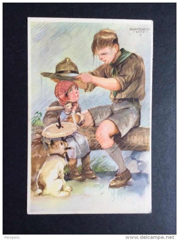 AK   SCOUT   BOY SCOUT PFADFINDER    MARTON - Pfadfinder-Bewegung