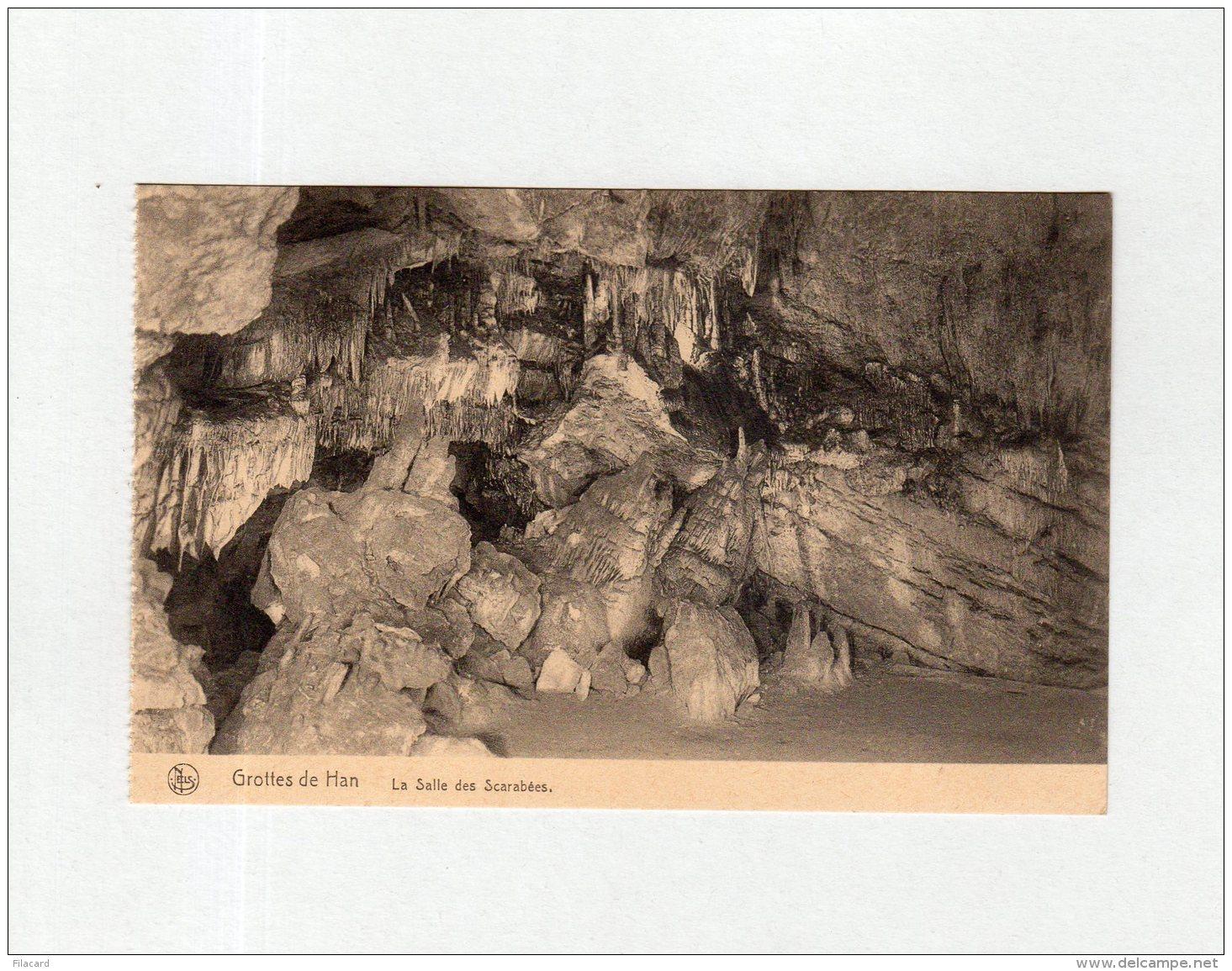 61676     Belgio,  Grottes De Han, La  Salle  Des  Scarabees,  NV - Rochefort