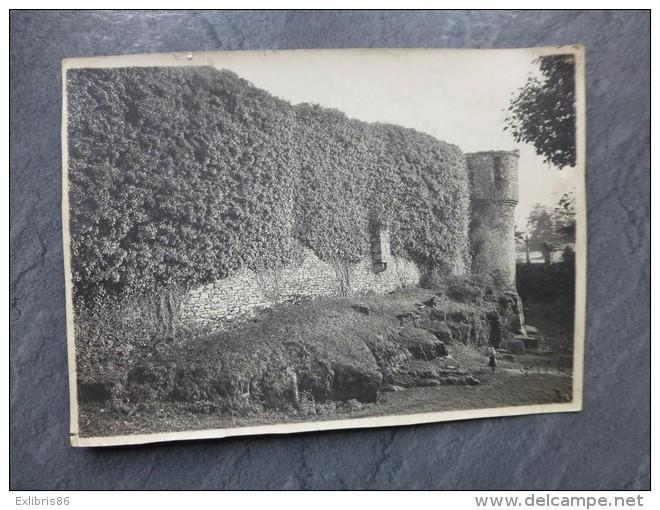 BRETAGNE Remparts Vers 1920, à Situer (Ile-et-Vilaine Vers Paimpont ?) ; Ref 749 PH 16 - Anciennes (Av. 1900)
